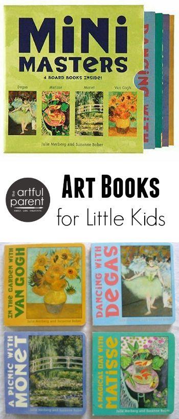 Art Books for Toddlers - Mini Masters Board Books