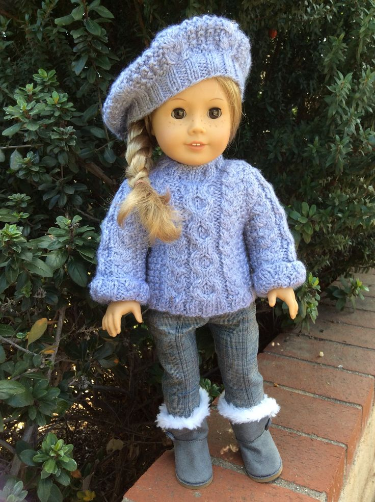 17 Best images about american girl doll knitting aran on ...
