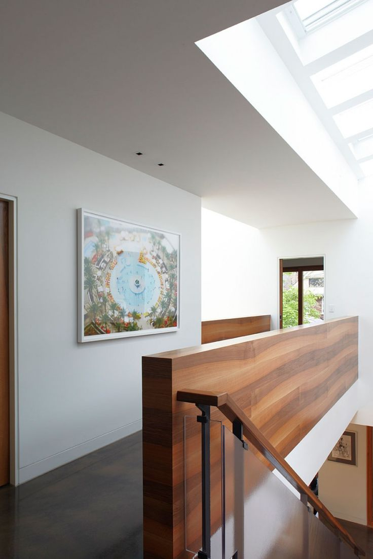 Hewitt Avenue House By Altius Architecture. Glass Stair RailingWood ...