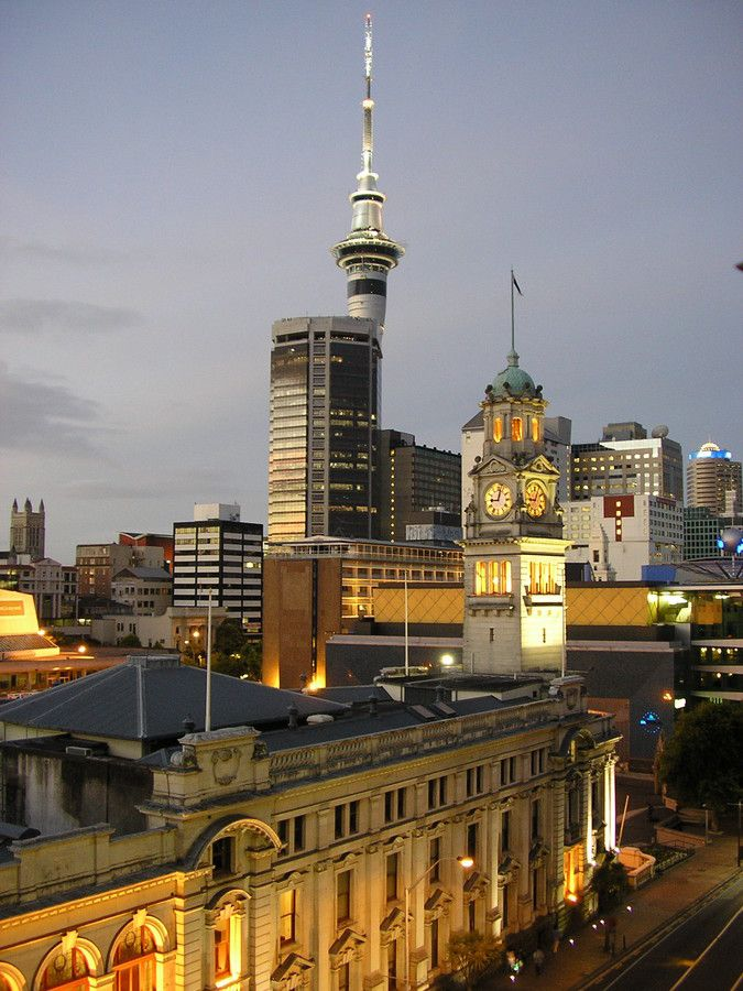 Auckland Skytower by Tim Mason on 500px