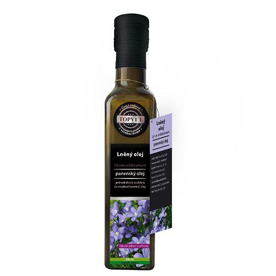 Lněný olej 250 ml - Topvet
