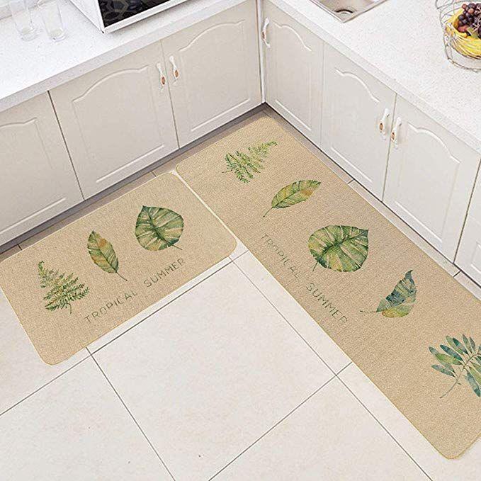 Com Hiiarug Cushioned Kitchen Floor Mats And Runner