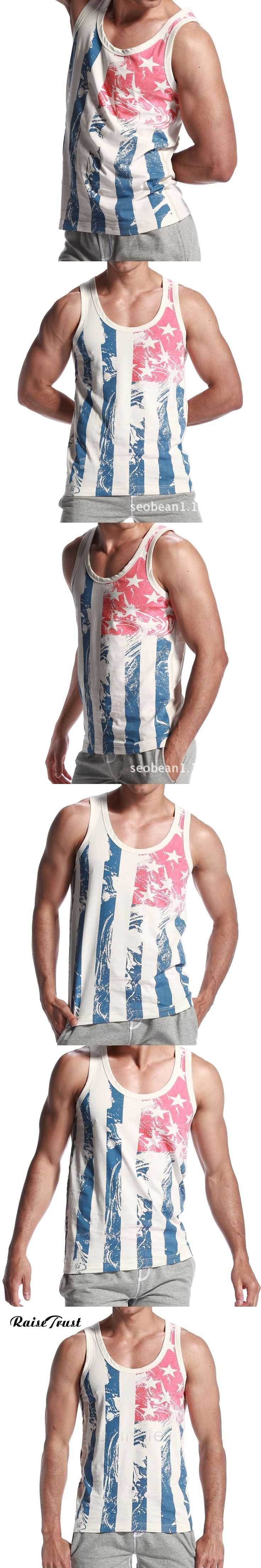 New spring 2016 vest bodybuilding clothing and fitness men tank tops golds brand vest 100% cotton undershirt musculation