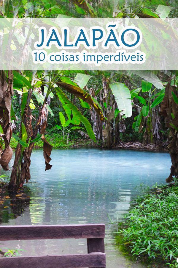Jalapão, no Tocantins - Veja 10 coisas imperdíveis. São 160 mil quilômetros de um lindo oásis bruto e extremo