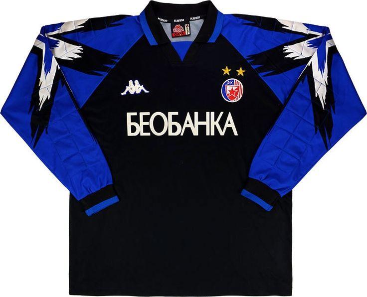 1997-98 Red Star Belgrade GK Shirt (Excellent) XL
