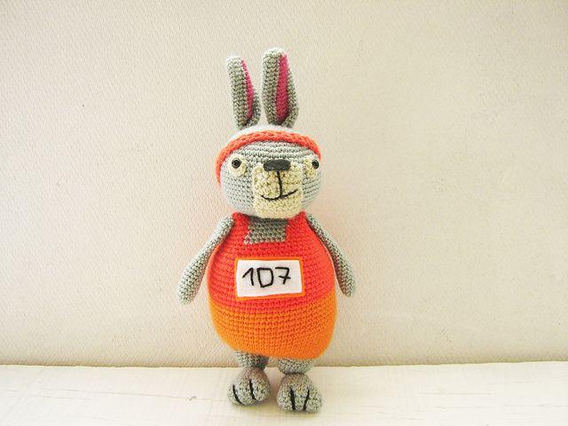 Conejo Maratón (marathon bunny)  lol.