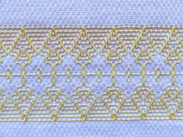 Tea Prato Toalha sueco Weaving no amarelo por SnowboundMe