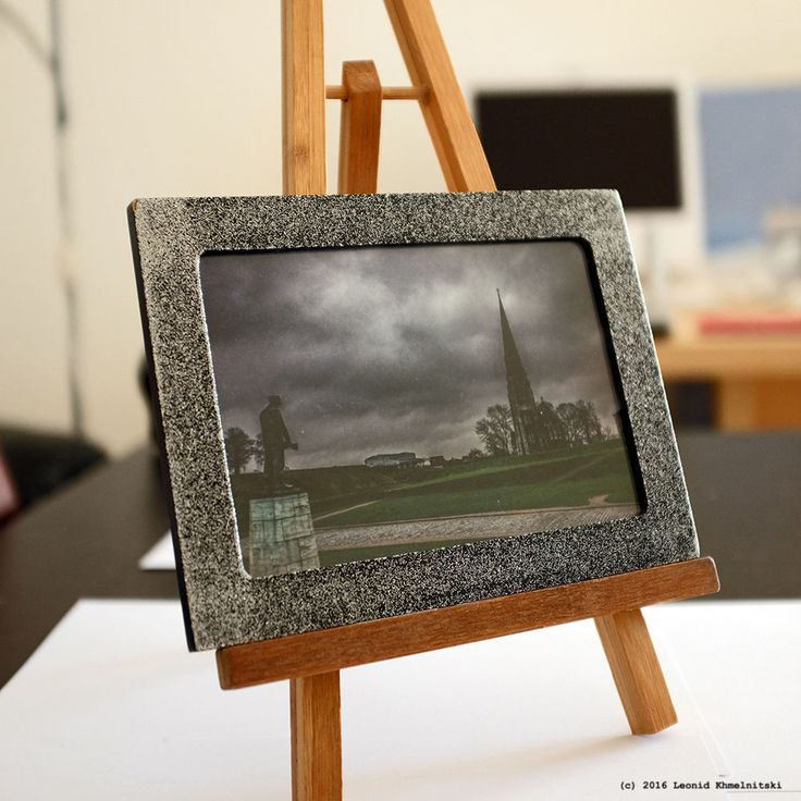 My photo  Kastellet  in a vintage Danish frame from the 70s