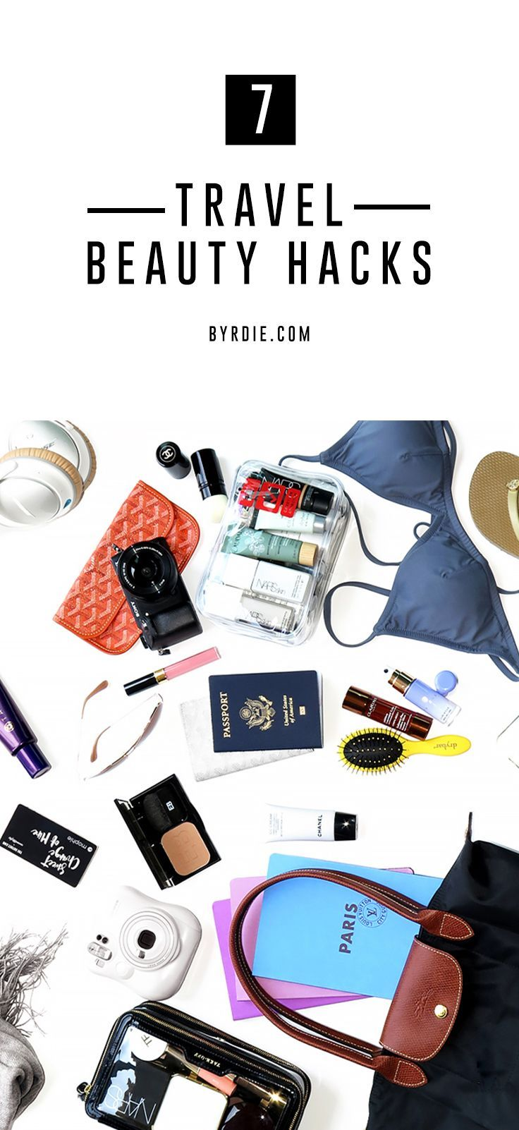 Going on vacay? These travel beauty hacks will save you