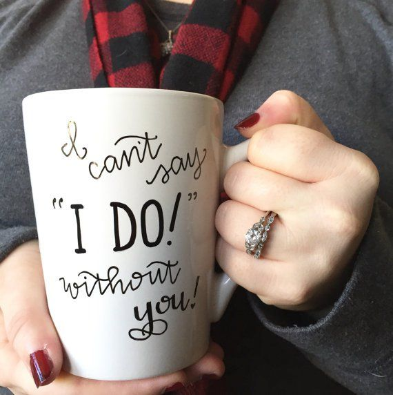 """Pin for Later: """"Will You Be My Bridesmaid?"""" 25 Thoughtful Ways to Pop the Question Mugs These mugs ($16) would be a creative way to ask."""