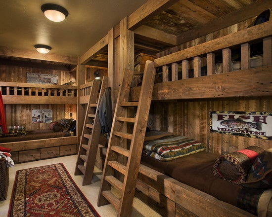 traditional bedroom log cabin decorating design pictures remodel decor and ideas page