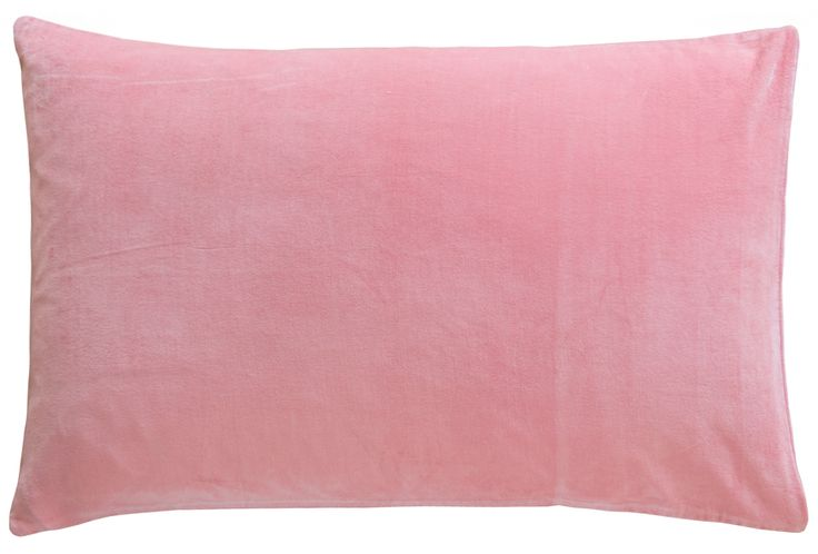 BABY PINK VELVET PILLOWCASE – Castle and Things