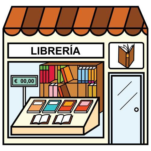 Pictogramas arasaac librer a casa tiendas barrio ciudad pinterest - Almacen de libreria ...
