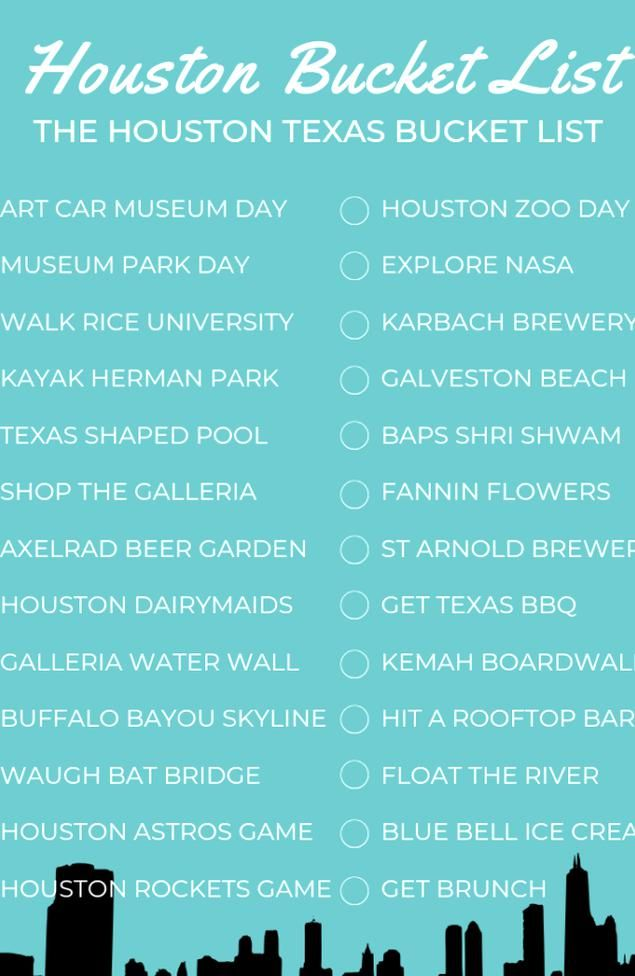 Bucket List Summer Bucket List How Texan Do You Think You Are How Many Have You Crossed Off The List C Texas Bucket List Houston Bucket List How To Find Out