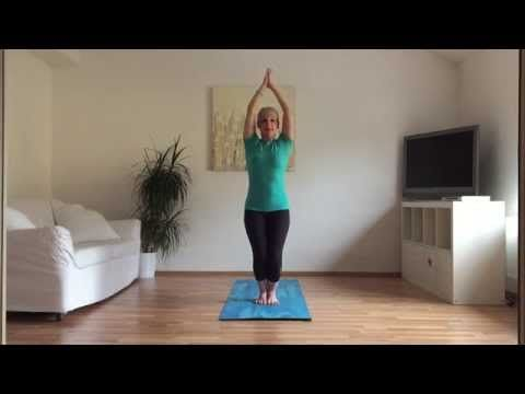 Pozdrav slunce pro zdrava zada   Hormonal joga
