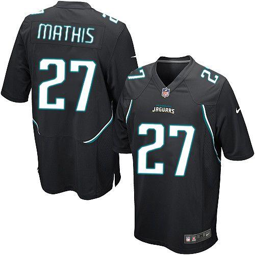 Youth Nike Jacksonville Jaguars #27 Rashean Mathis Limited Black Alternate NFL Jersey Sale