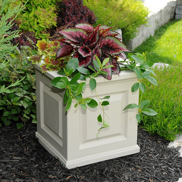 Mayne 5865 C   Nantucket Patio Planter #rbhplanters
