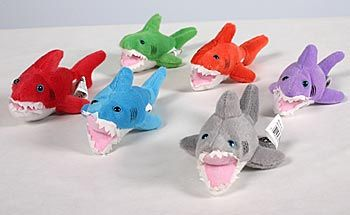 Add these Plush Sharks to your shark favors list. Plush #Sharks are sold in packages of 12.