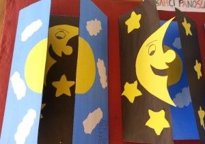 day and night craft idea for kids (3)