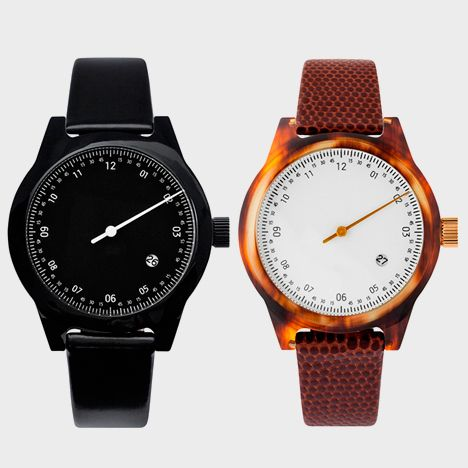 New editions of Minuteman watch by Squarestreet arrive at Dezeen Watch Store.