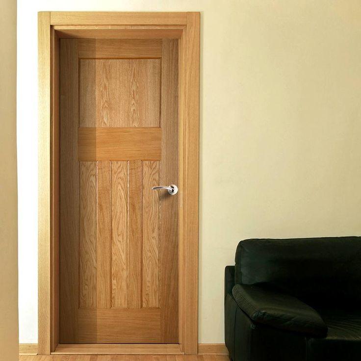 Period Oak 1930'S 4 Panel Oak Door is 1/2 Hour Fire Rated. #firedoor #internalfiredoor #fireratedoakdoor