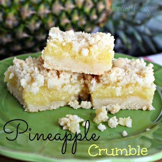 Spindles Designs by Mary & Mags: Pineapple Crumble #TriplePFeature