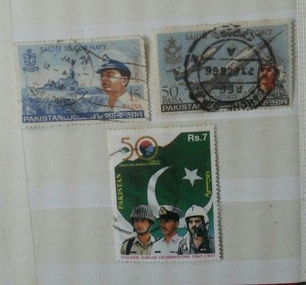 Stamps: Stamps Salute to Pakistan Armed Forces