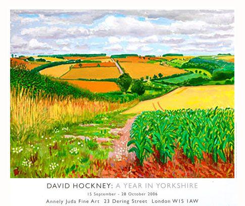 DAVID HOCKNEY : POSTERS