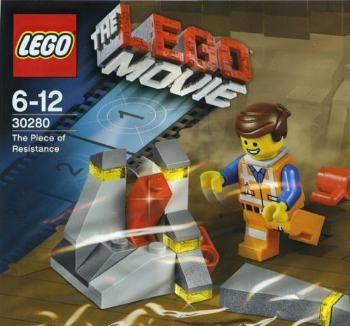LEGO The LEGO Movie 30280 Emmet w/ Piece of Resistance Polybag Minifigure NEW