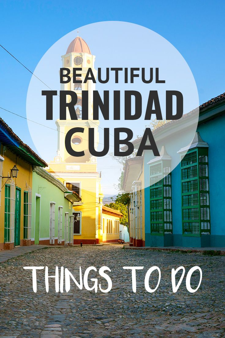 Trinidad is Cuba's best preserved colonial city, a unique mix of 1850's architecture & 1950's cars that feels frozen in time. Check out some of my favorite things to do in Trinidad.