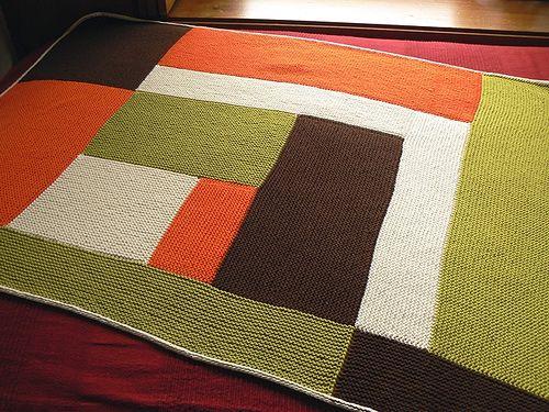 moderne baby blanket FO by 100% pura lana, via Flickr
