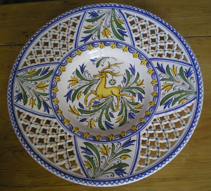 A hutterite (habán) ceramic from Hungary <3