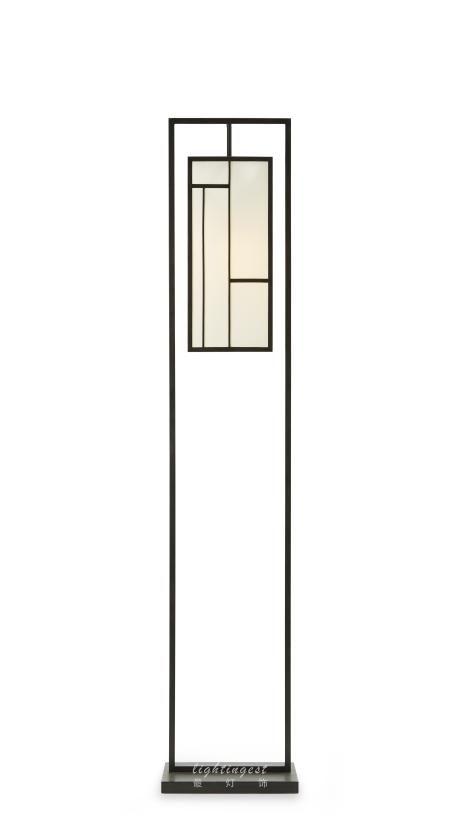 【Lightingest】Zen Chinese style floor lamp【最灯饰】5月新品禅意新中式设计师样板房会所客厅餐厅落地灯