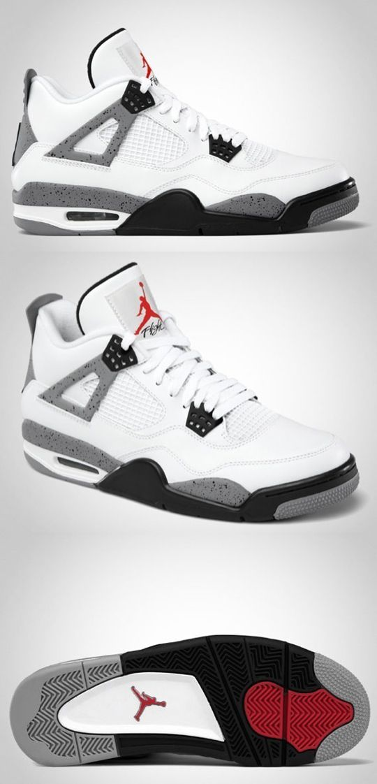 "Air Jordan IV Retro ""White/Cement"""