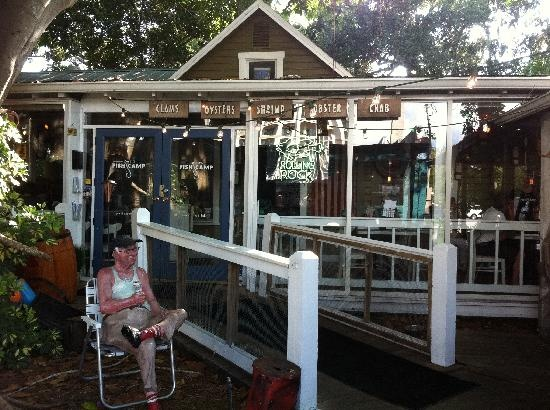 Owen 39 s fish camp great place to eat when visiting for Sarasota fish restaurants
