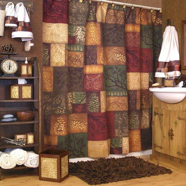 Best Shower Stalls For Bathroom Ideas Images On Pinterest - Country shower curtains for the bathroom for bathroom decor ideas