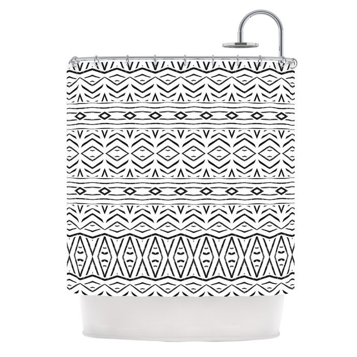 You'll love the Tambourine Shower Curtain at AllModern - With Great Deals on modern Bath  products and Free Shipping on most stuff, even the big stuff.