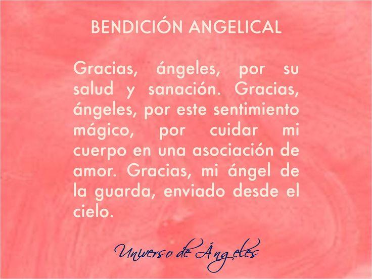 Gracias a los ángeles... Muchas gracias.  #UniversoDeAngeles
