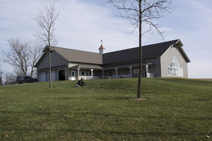 Jim jeanne 39 s home morton buildings 3745 new house for Morton building cabin