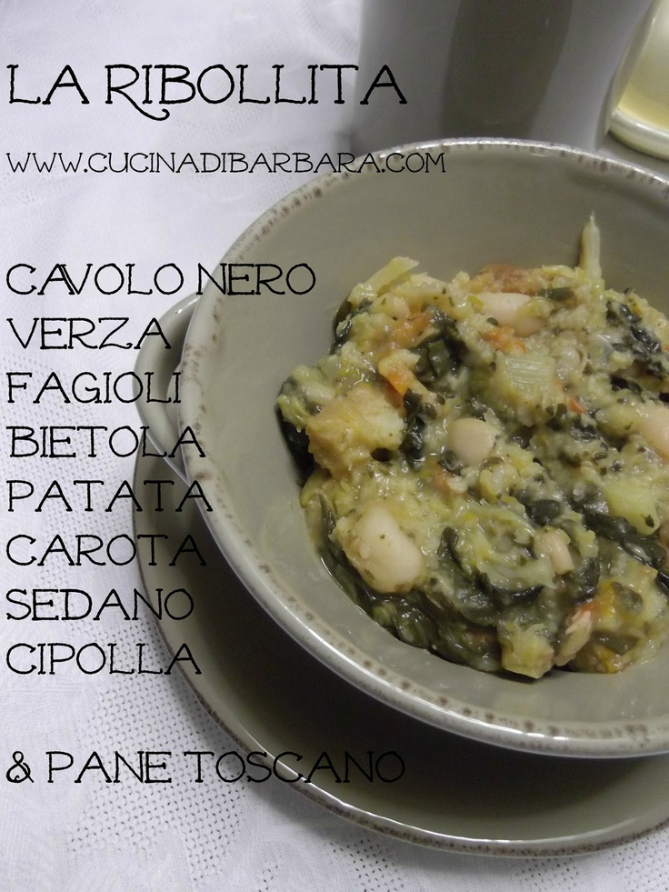 Cucina di Barbara:  ribollita toscana
