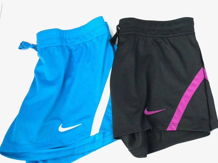Nike Infiknit Mid Women's Training Shorts (Lt Photo Blue / Black - Purple ) NWT  #Nike #Tranning
