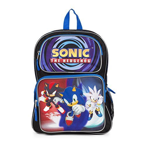 21ea7f54d6b1 Sonic the Hedgehog Large Backpack #85784 | Toys | Sonic the hedgehog ...