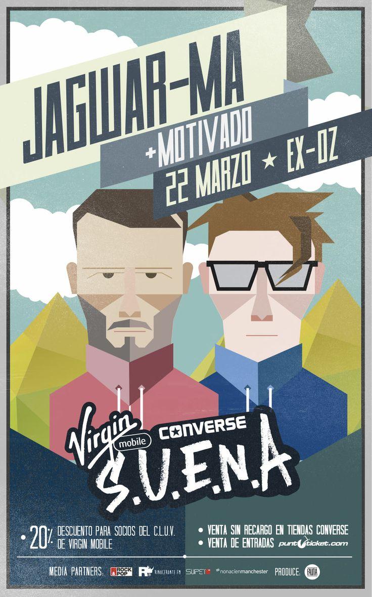 La banda australiana Jagwar Ma y el dj chileno Motivado nos acompañaron el pasado 22 de marzo en una nueva fecha del ciclo #VirginConverseSUENA #2014
