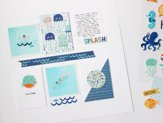 Bella Blvd | Secrets of the Sea | Layout by Nancy Damiano
