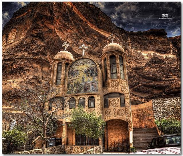The Rock Church or (The Cave Church) in Cairo - #Egypt