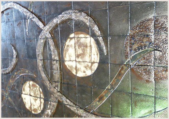 Murales cerámicos: la tradición convertida en arte vanguardista.