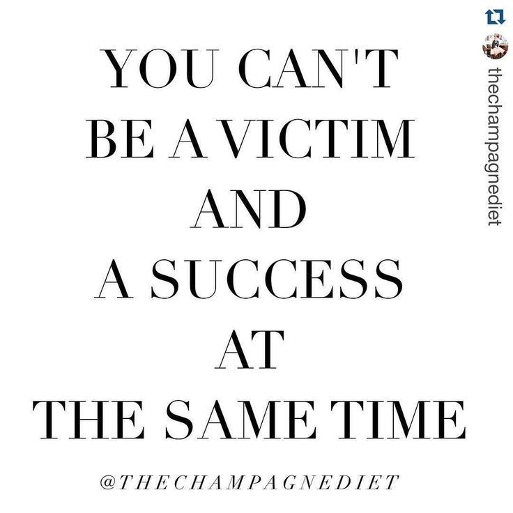 So much yes!! ----- #Repost @thechampagnediet with @repostapp. Nobody else is responsible for your success. Nobody can give it to you and nobody can take it from you. Stop blaming others and stop blaming circumstances. Stop wishing you had more money more connections more opportunities. Take that energy and go create it all. You can't be a victim and be a success. Choose one.