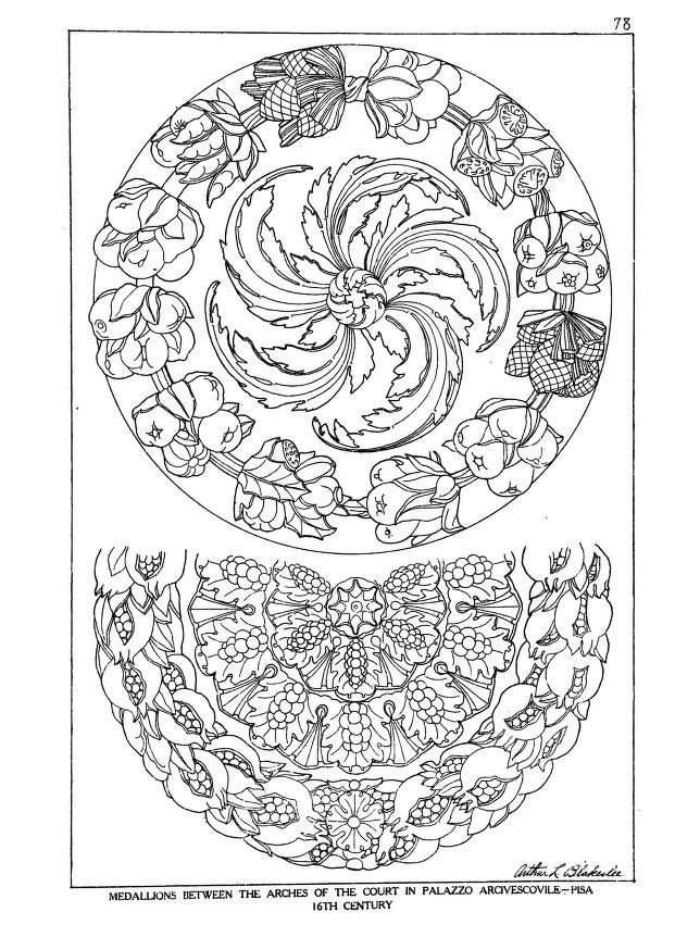 art coloring pages renaissance - photo#27