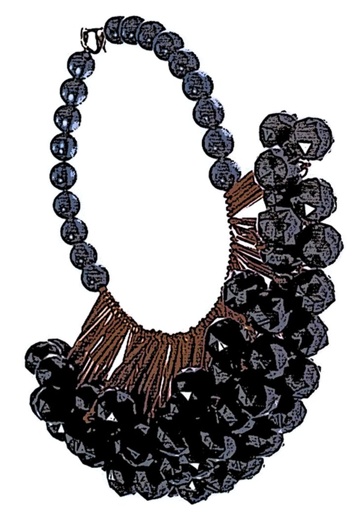 necklace illustration_dp accessories  by DpK fashion design studio  #necklace #illustration