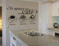 para la pared de la cocina (sólo que expresso se escribe espresso, no es con X)